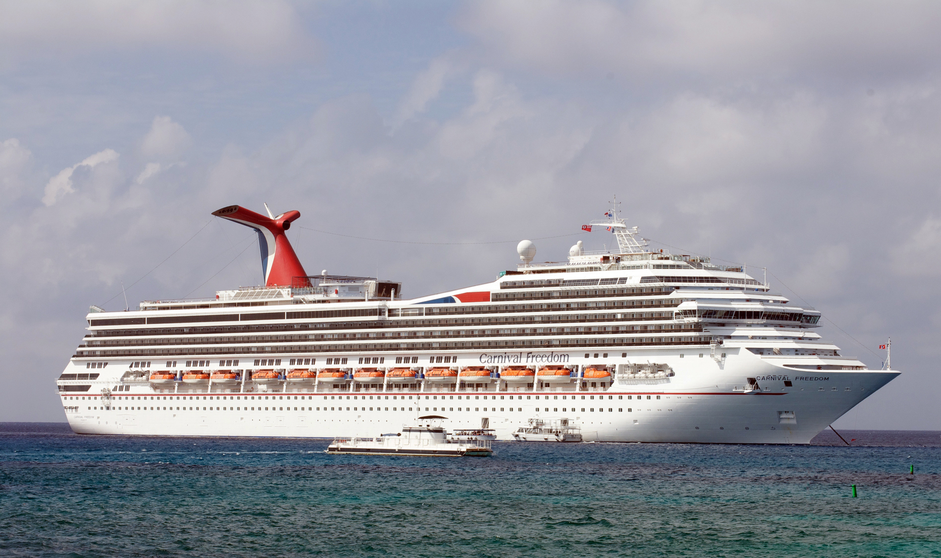 5 Night Round Trip Cruise From Galveston Aboard The Carnival Freedom Leaving December 3 2016
